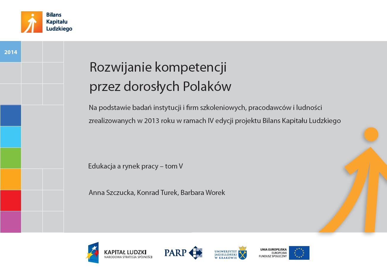 Rozwijanie kompetencji przez dorosłych Polaków