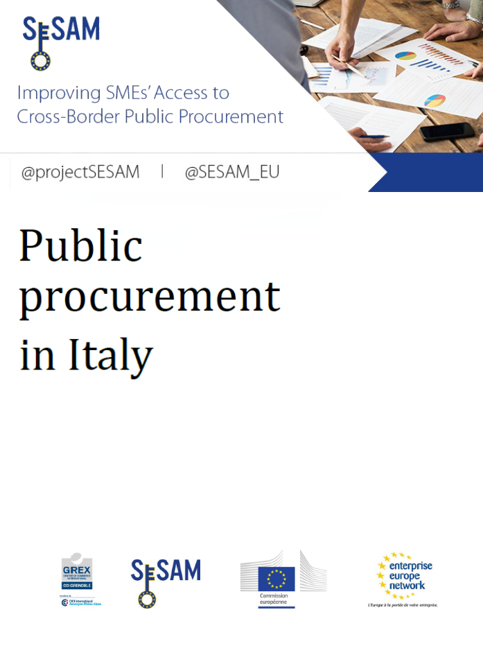 Public procurement in Italy (EN)
