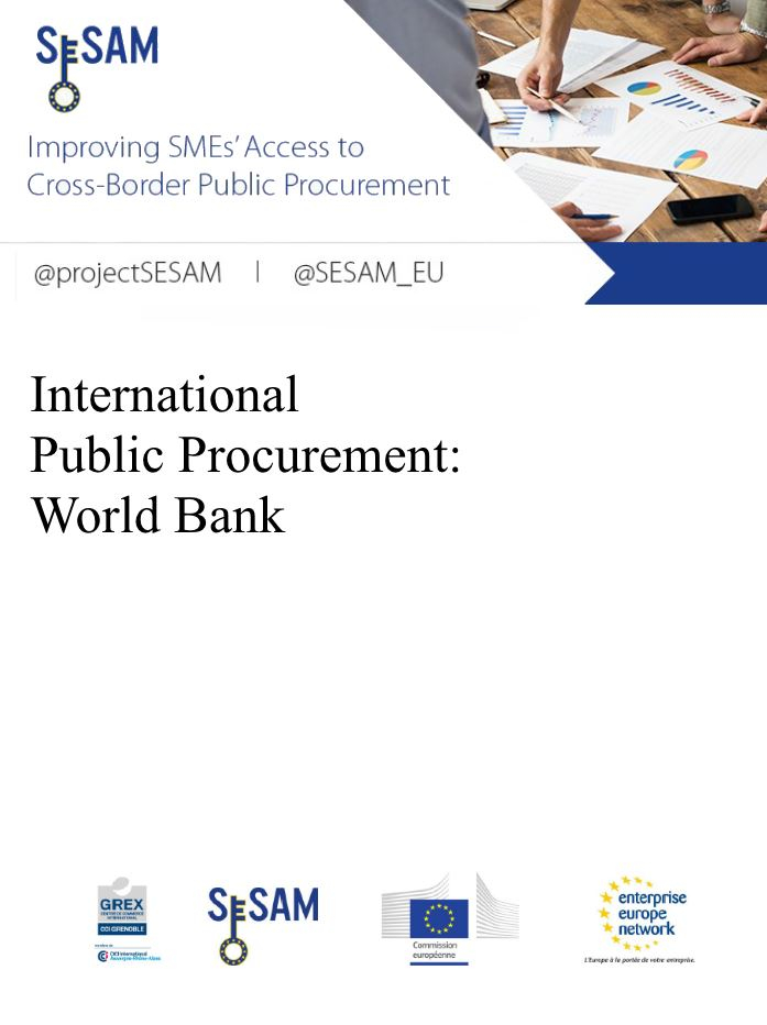 International Public Procurement: World Bank (EN)