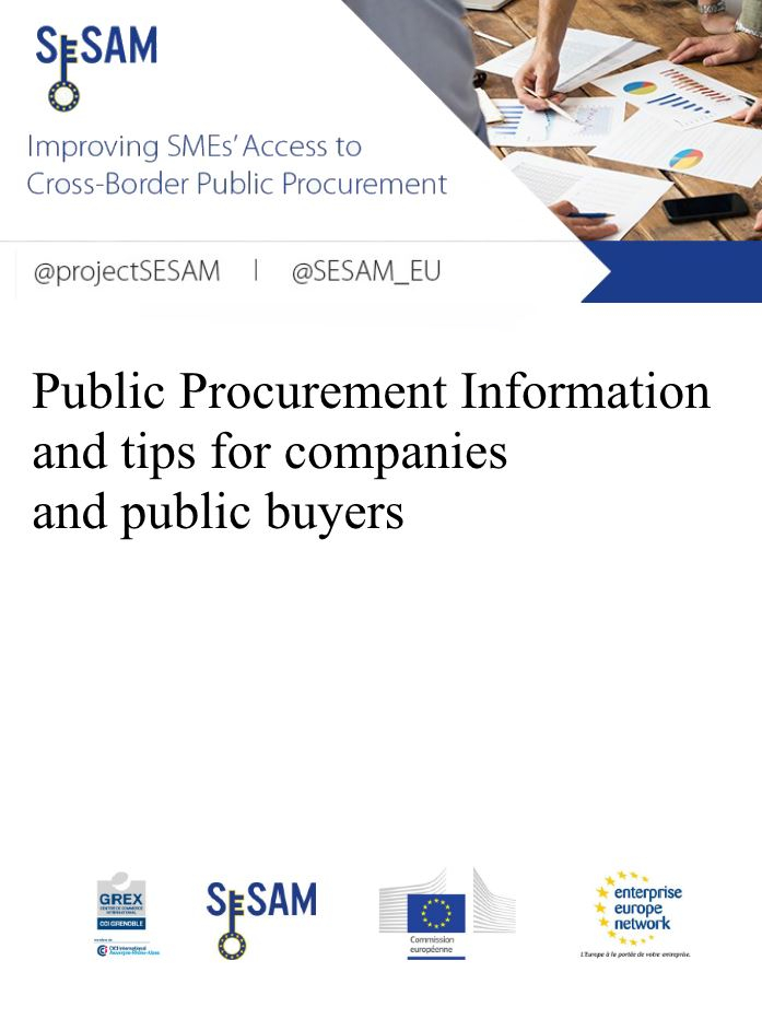 Green Public Procurement Information and tips for companies and public buyers (EN)